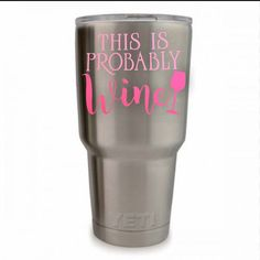 This is probably wine decal Wine Yeti decal by VinylSticksDesigns