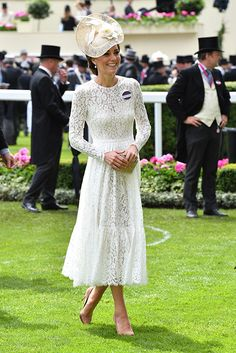 Kate makes her Royal Ascot debut in £2,415 Dolce & Gabbana dress
