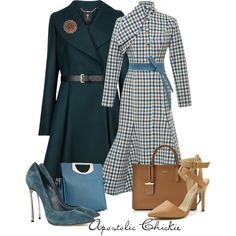 Check With Flare by apostolicchickie on Polyvore featuring polyvore, fashion, style, Ted Baker, Rochas, Casadei, DKNY, Christian Louboutin, Isabella Oliver and WALL