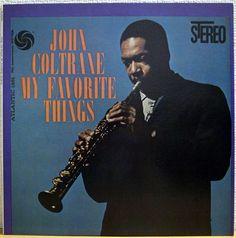 JOHN COLTRANE / MY FAVORITE THINGS / ATLANTIC / JAZZ / WARNER JAPAN