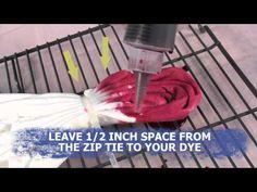 DIY Never Dies! How to create a Heart Design Tie Dye T-Shirt!