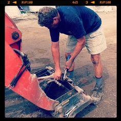 Chatham-Kent - Fixing things! Mr. Fix it. #glasshousenursery #chatham #ontario http://www.facebook.com/theglasshousenursery #farm #toys #tractors