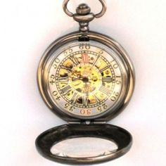 DELUXE SHERLOCK HOLMES - Pocket Watch - Mechanical - Large ...