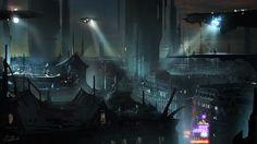 cyberpunk city art - Pesquisa Google