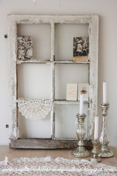 Old window.. <3 My little white home by Nadine: Raam zonder uitzicht