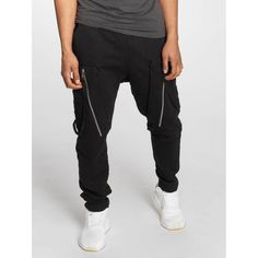 Shop online Bangastic Men's Sweat Pant Hardstyle in black from CompleX. stylish biker joggers for men by Bangasticdrawstring inside at the waistbandside pocketspatched back pocketslockable side pockets with zipperssoft roughened inner materialdeep step Mens Fashion Online, Online Fashion Stores, Mens Sweatpants, Men's Pants, Parachute Pants, Stylish, Shopping, Black, Black People