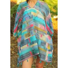 Cover Up, Beach, Dresses, Fashion, Beach Outfits, Summer Time, Blue, Women, Ponchos