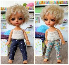NEW! Set of two pairs of pants for Lati Yellow,Pukifee, ets. by TashkasBears on Etsy