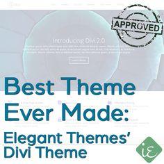 #Best #WordPress #Theme Ever Made - Elegant Themes' Divi Theme | Instant Entity approved - http://instantentity.com (scheduled via http://www.tailwindapp.com?utm_source=pinterest&utm_medium=twpin&utm_content=post370371&utm_campaign=scheduler_attribution)