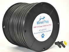 16 Gauge Heavy Duty Superior Pro Dog Fence Wire Ft Continuous Wire by Monell Pets 2000