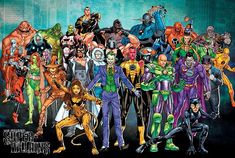 Villains. Most of the all-time DC greats are on here.