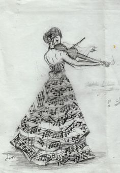 love photography beauty art girl quote Black and White life dress music notes musical desenho Notas violin sheet music treble clef vestido music art violino Pictures Of Music Notes, Art Plastique, Music Is Life, Cool Drawings, Music Drawings, Pretty Drawings, Amazing Art, Awesome, Amazing Music