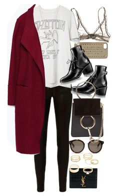 """""""Untitled #10200"""" by nikka-phillips ❤ liked on Polyvore featuring Marc by Marc Jacobs, rag & bone, STELLA McCARTNEY, Zara, Yves Saint Laurent, Chloé, Charlotte Russe and ERTH"""