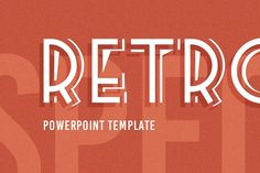 Ad: Retrospective PowerPoint Template by Rework on Keynote Version Available Here: Free Version - Retrospective PowerPoint Template is made in a retro style. Presentation slides look like Best Presentation Templates, Presentation Slides, Creative Powerpoint Presentations, Portfolio Presentation, Business Illustration, Keynote Template, Business Card Logo, How To Draw Hands, Design Templates