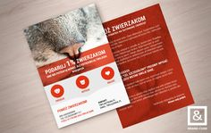 Free flyer A6 #mockup - you can use freely for both personal and commercial…