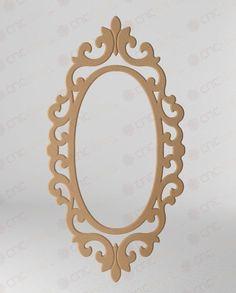 Resultado de imagen para Large frame for a mirror with CNC
