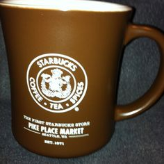 One of my purchases at the First Starbucks.