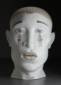 IT'S ALL IN THE HEAD: Sergei Isupov and Takahiro Kondo Sculptures Light Up The Senses | VandM's DESIGNinTELL
