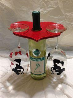 Wine bottle holder 12.2016