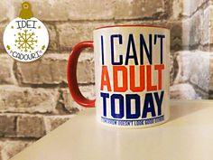 Cana cu mesaj pentru colegul sau colega de birou. Mugs, Tumblers, Mug, Cups