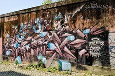 street art by Base 23, Rua do Mirante, Porto
