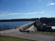 Bull Shoals Lake. One side is lake, the other side is white river. (I love hearing stories my grandfather will tell about how he helped build the bull shoals dam)