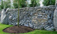 stone wall - swirl