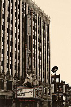 Detroit Photography  The Fox Theatre Detroit  by AlannaPfeffer, $30.00