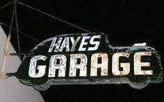 garage sign!