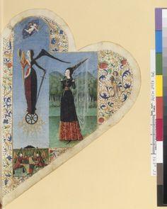 Интересное и забытое - быт и курьезы прошлых эпох. - Старинные книги в форме сердца.15-16 век.