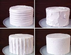 Hello fellow cake makers!! I am excited to share some quick tips to take your plain, buttercream cakes to the next level. Although I highly encourage learning how to create a smooth buttercream finish, adding textures is an easy way to change up the appearance of an ordinary cake. TEXTURED BUTTERCREAM CAKES I quickly made these fun, textured buttercream cakes with a few everyday tools from my cake kit. Starting with a fairly smooth, evenly iced cake, I changed up the look with thes...
