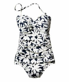 Anne Cole Signature Twist Bandeau Shirred One-Piece