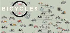 Infográfico do Pop Chart Lab revela evolução de bicicletas ao longo de 233 anos