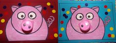 Les 3 petits cochons roses