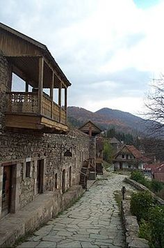 I can see myself sitting on that balcony and writing a telling story...  Dilijan, Armenia http://www.travelbrochures.org/256/asia/travel-armenia