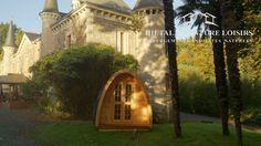 pod cabane installe dans parc  http://www.hietala-aventure-loisirs.com/ #pod #cabane