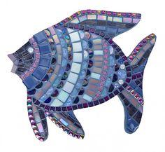 Mosaic Fish lila