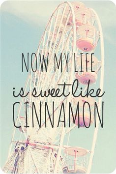 Now my life is sweet like cinnamon (lana del rey/ radio) - background, wallpaper, quotes | Made by breeLferguson