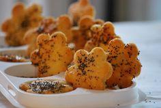 Galletas de Parmesano y Amapola