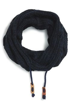 Bickley+++Mitchell+Cable+Knit+Drawstring+Snood+available+at+#Nordstrom