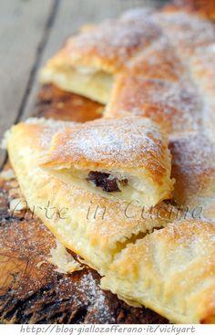 Danubio dolce di sfoglia alla nutella veloce vickyart arte in cucina