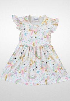 1a5702408b3f Girls+Unicorn+Flutter+Dress+ www.cassiesclosetinc.com Unicorn Dress, Baby