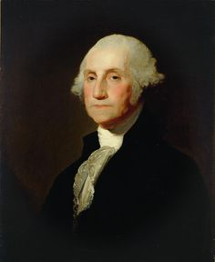 Gilbert Stuart George Washington 1796 Painting Wall Art Canvas Print In List Of Presidents, American Presidents, American History, National Gallery Of Art, National Portrait Gallery, George Washington Biography, Gilbert Stuart, Westmoreland County, John Tyler