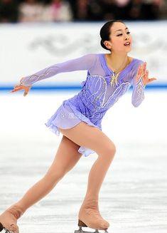 Figure Skating Costumes, Figure Skating Dresses, Claude Debussy, Figure Ice Skates, Japanese Figure Skater, Sport Gymnastics, Ice Skaters, Ice Princess, Sports Figures