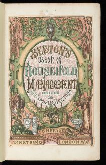 Mrs. Beeton's Book of Household Management, a Guest Post from Gianna Thomas | ReginaJeffers's Blog
