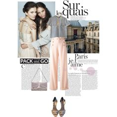 À Paris avec Chanel/Pack and go, created by helenevlacho on Polyvore