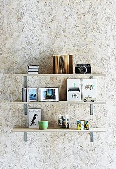white washed particle board