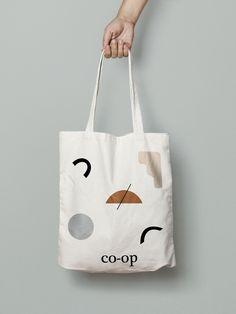 Design packaging clothes creative 64 Ideas for 2019 Bag Packaging, Packaging Design, Branding Design, Minimal Design, Modern Design, Creative Design, Jute, Fabric Bags, Shopper Bag