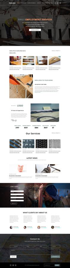 "Check out my @Behance project: ""Web PSD Template"" https://www.behance.net/gallery/46128849/Web-PSD-Template"