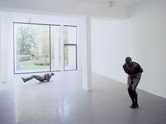 Xavier Hufkens, Brussels - Exhibitions - Antony Gormley, 2002